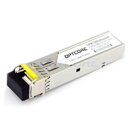 Cisco GLC-BX40-D-I Compatible 1000BASE-BX40-D SMF TX:1550nm/RX:1310nm 40km Industrial SFP Transceiver