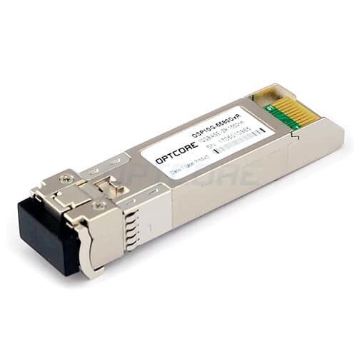 Cisco SFP-10G-ZR Compatible 10GBASE-ZR SMF 1550nm 80km SFP+ Transceiver