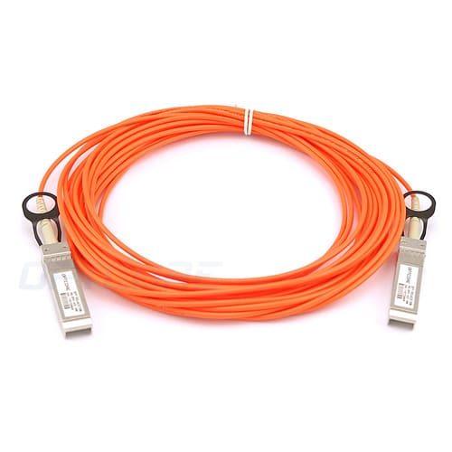 Cisco SFP-10G-AOC10M Compatible 10G SFP+ 10m Active Optical Cable (AOC)