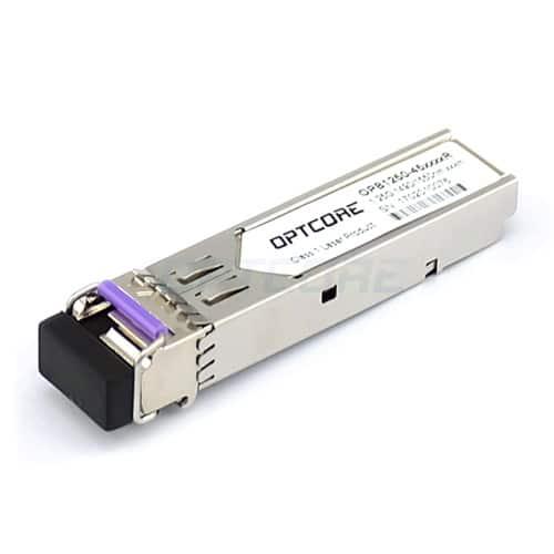 Generic 1.25Gbps Tx:1490nm/Rx:1550nm 150-160km BiDi SFP Transceiver Module