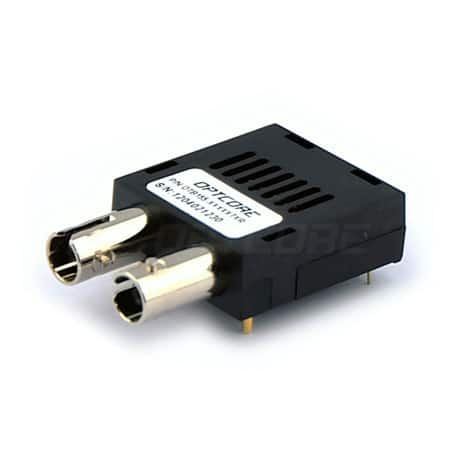 84Mb Single Mode 1550nm 120km Duplex ST 1x9 TTL Optical Transceiver