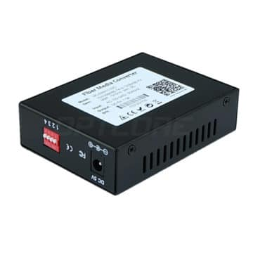10/100Base-TX to 100Base-FX Multimode 2km Fiber Media Converter