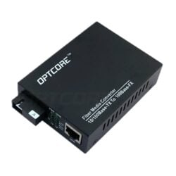 10/100Base-TX to 100Base-BX 80km Single Fiber WDM Media Converter