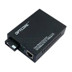 10/100Base-TX to 100Base-BX 20km Single Fiber WDM Media Converter