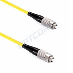 FC-FC 9/125μm OS2 Singlemode Simplex PVC Fiber Optic Patch Cable