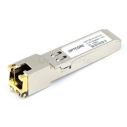 Alcatel-Lucent SFP-GIG-T Compatible 1000BASE-T Copper 100m RJ45 SFP Module