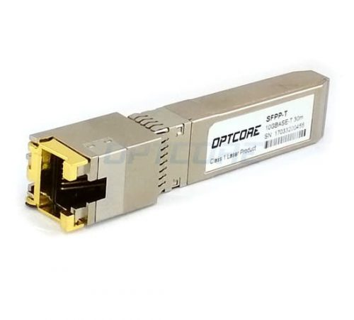 10GBASE-T SFP+ Copper Transceiver