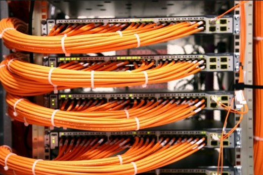 optical fiber jumper management